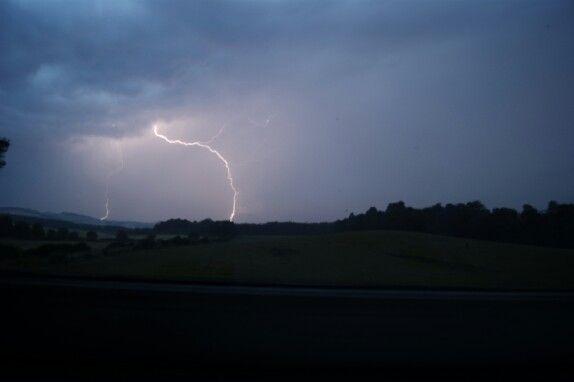Lightning over Eckford