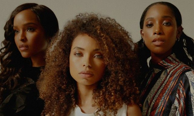 "thepowerofblackwomen actresses 'Dear white people photography  "" Antoinette Robertson, Logan Browning, Ashley Blaine Featherson for Nylon Magazine """