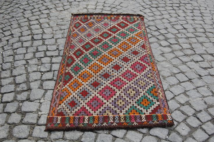 FREE SHIPPING! oriantel area rug,3x6 area rug,red area rug,rugs online,area rug for sale,affordable area rugs, room size rugs,turkey carpet by TurkartRug on Etsy