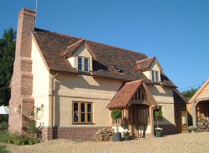 Border Oak - The original Pearmain Cottage featured on Channel 4's Grand Designs.