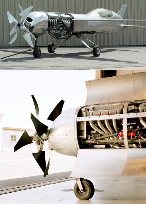 """""""If all goes according to plan, a thunderously overpowered racing machine called RP-4 will reach a straight and level speed in excess of 528.3 mph and become the world's fastest piston-driven plane. The 22-year-old record is held by a modified World War II—era Grumman F8F Bearcat."""""""