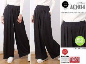 Baju Online Grosir Murah: celana kulot spandek rayon AC1014