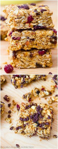 These healthy peanut butter bars will make you feel like you're indulging! Bonus: they're no bake!