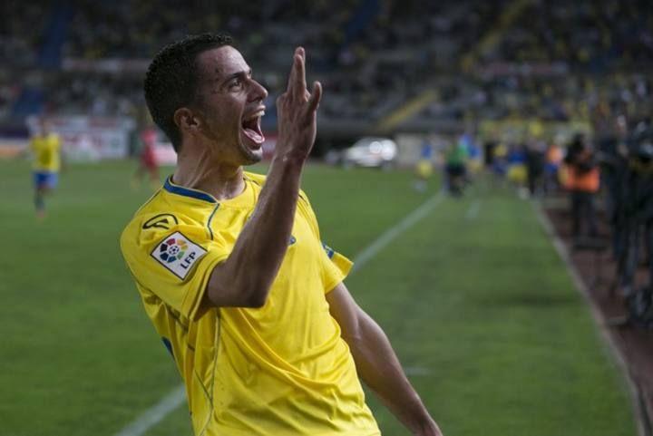 Liga Adelante: UD Las Palmas-Numancia (2-0)