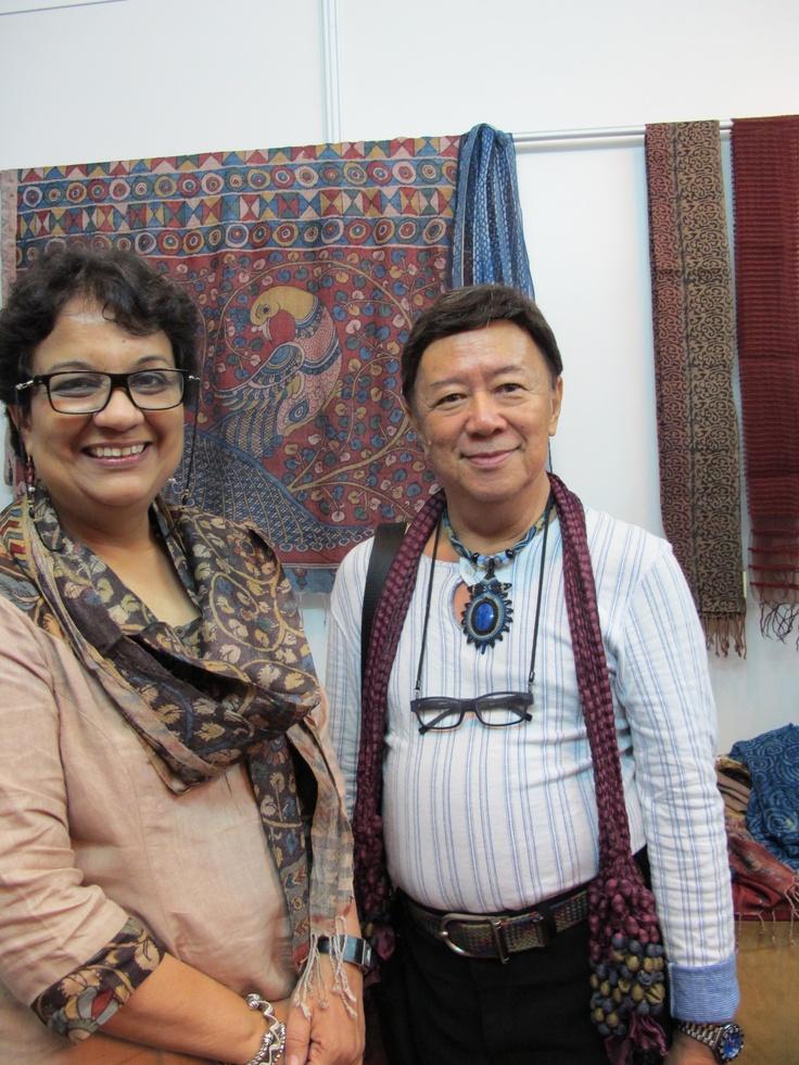 Bina Rao and Ramsey Ong