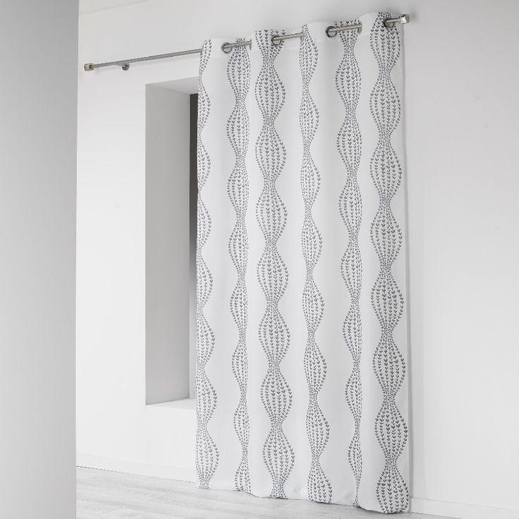 17 meilleures id es propos de rideaux blancs sur pinterest rideaux de salon stores en. Black Bedroom Furniture Sets. Home Design Ideas