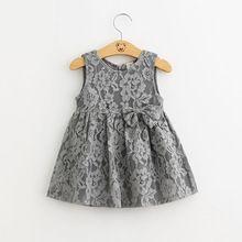 Корейский девушка кружева цветы платье мода милые дети ну вечеринку платье бутик детской одежды высокое качество принцесса ну вечеринку платье(China (Mainland))