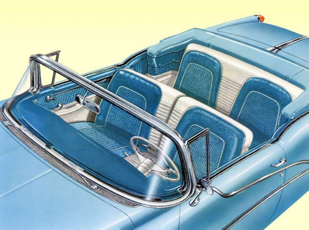 Plan59 :: Classic Car Art :: Vintage Ads :: 1955 Oldsmobile