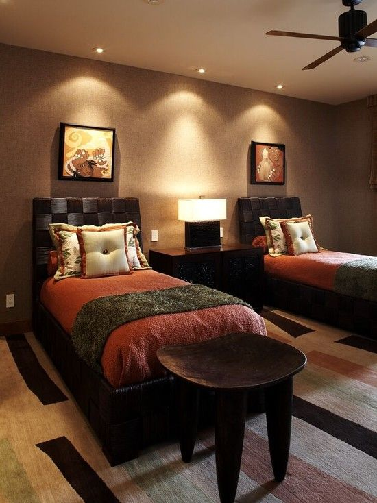 Bedroom African Safari Decor Design Pictures Remodel Decor And Custom African Bedroom Designs