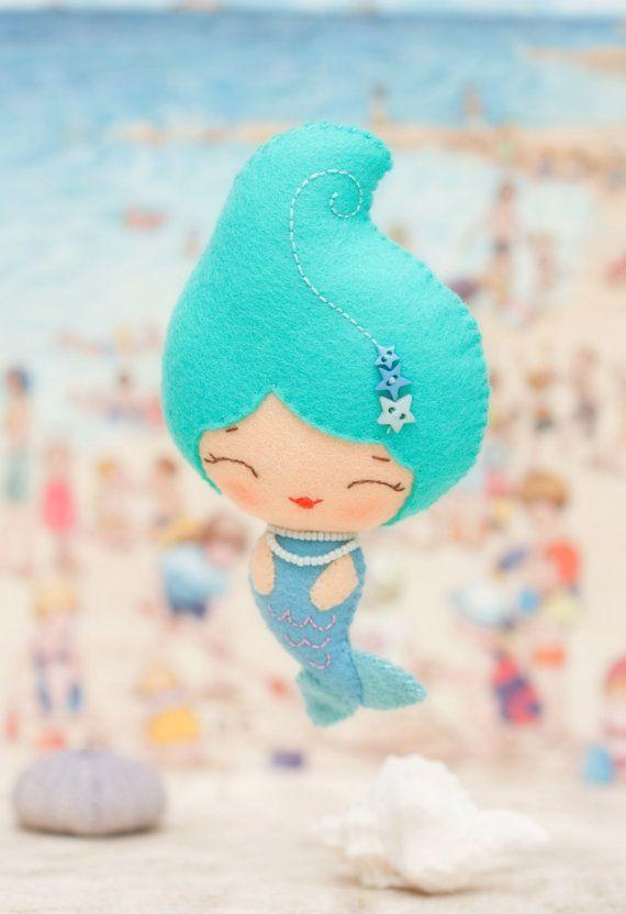 PDF Pattern. Cute mermaids. by Noialand on Etsy