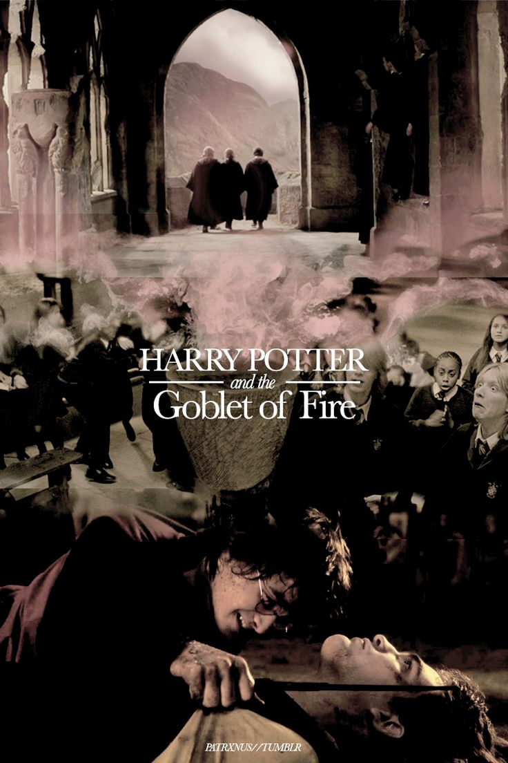 Harry Potter and the Goblet of Fire - alternate movie posters