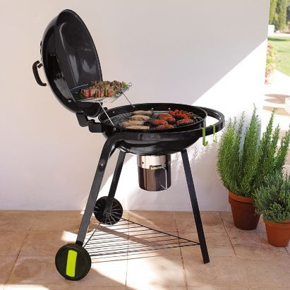 Blooma halleck kettle charcoal bbq 5052931121366 garden for Housse blooma