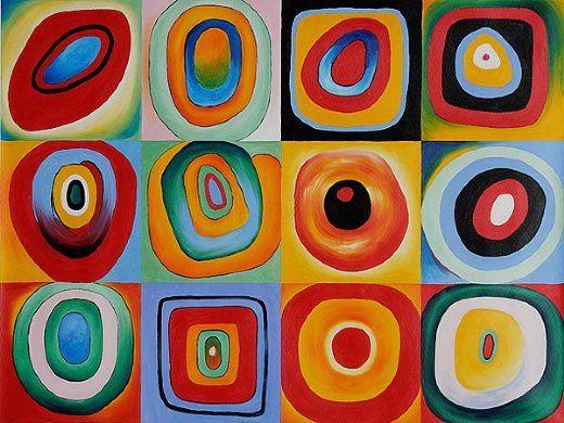Wassily KandinskyWall Art, Artsy Abstract, Art Museums, Art Inspiration, Artists Inspiration, Artsy Fartsy, Oil Painting, Farbstudi Quadratic, Wassily Kandinsky