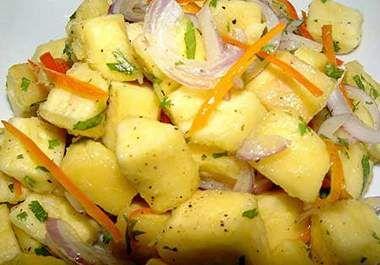 Receta Ensalada de Yuca, nuestra receta Ensalada de Yuca - Recetas enfemenino