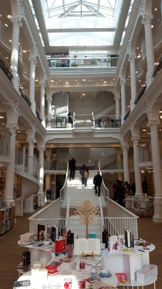 This huge, beautiful bookstore? An instant favourite.