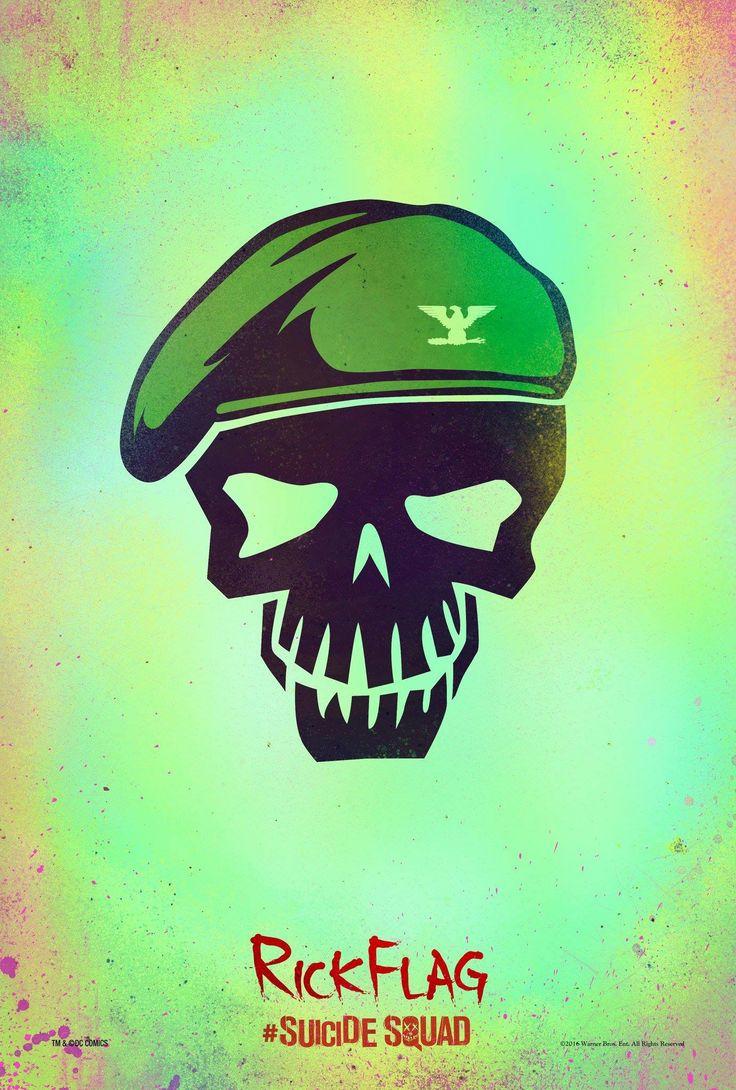 Poster Rick Flag - Suicide Squad