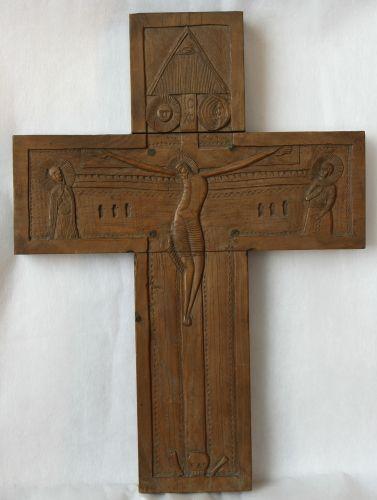 Cruce - Muzeul Naţional al Ţăranului Român - BUCUREŞTI (Patrimoniul Cultural National Mobil din Romania. Ordin de clasare: 2071/19.02.2009 - Fond)