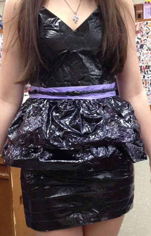Recyclables fashion show.  See  for premise.