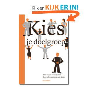 Kies je doelgroep boek van Erno Hannink