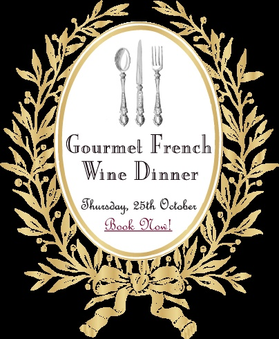 Embark on a gourmet adventure through the world's gastronomic heartland with a sumptuous five course dinner matched with exclusive French boutique wines, champagne and heaps of fun! Merveilleux!    When: 6.30pm, Thursday 25 October  Where: Baguette Bistrot + Bar, 150 Racecourse Road, Ascot, Brisbane  How much: $134 (inclusive of food, boutique French wines and fun!)  Book: www.thegourmetbelle.com.au/shop/brisbane-wine-events.php or e-mail orders@thegourmetbelle.com.au