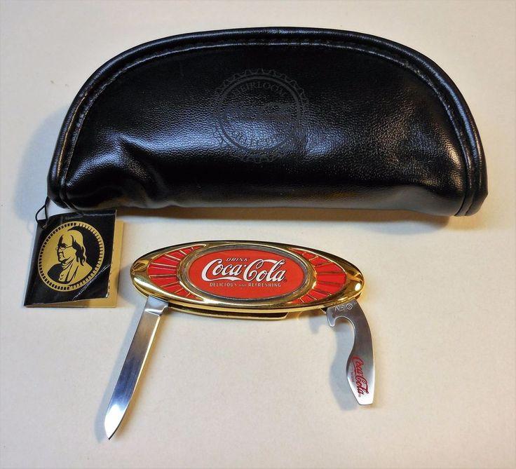 """Vintage Coca Cola """"Franklin Mint"""" Knife"""