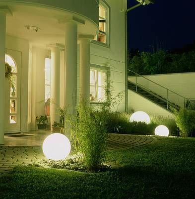 arquipaisaje: Iluminación de jardines y exteriores