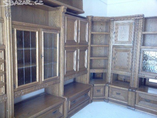 Rustikální obývací stěna - obrázek číslo 1