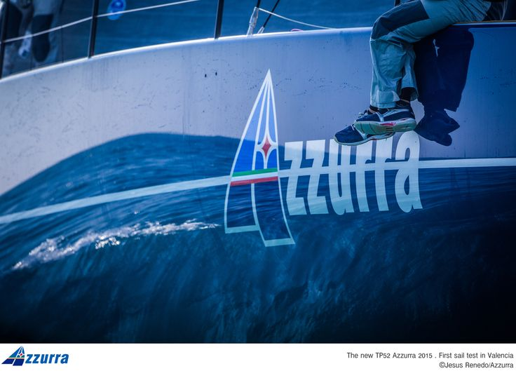 Azzurra TP52 -  SLAM official supplier #slamsailing #slamshoes ph. JRenedo