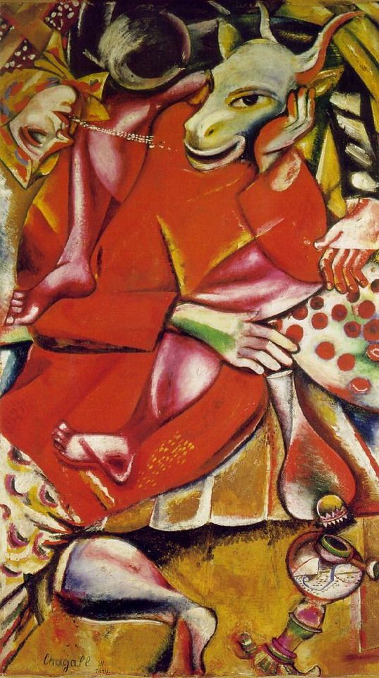 "Marc Chagall - ""To My Betrothed"", 1911"