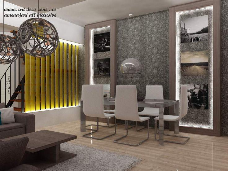 O sufragerie cu un decor fascinant! Design interior duplex la cheie - Brasov - Art Deco Zone & Knox Design - Amenajari interioare Bucuresti. www.artdecozone.ro, #decorsufragerie, #amenajariinterioare, #sufrageriemoderna
