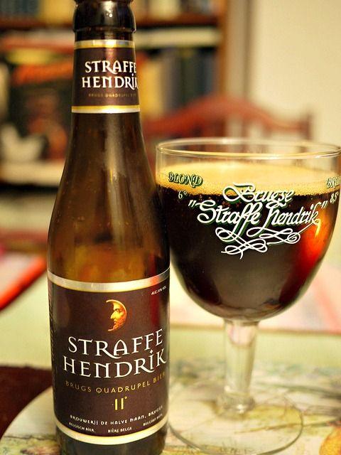 Belgian Beer - Straffe Hendrik QuadrupelBelgian (http://wonderfulwanderings.com/belgian-beer-halve-maan-brewery-bruges/)