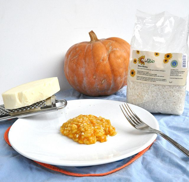 Pumpkin Risotto with Spicy Provolone: Thermomix Recipe - Thermomix Recipes