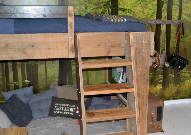 Bigg bed in Koen's room