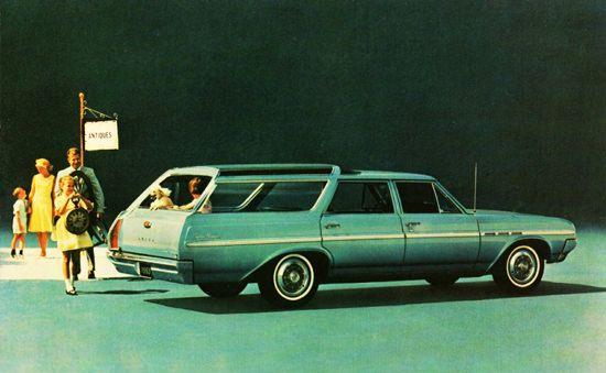 Buick Skylark Sport Wagon 1965 Antiques - Mad Men Art: The 1891-1970 Vintage Advertisement Art Collection