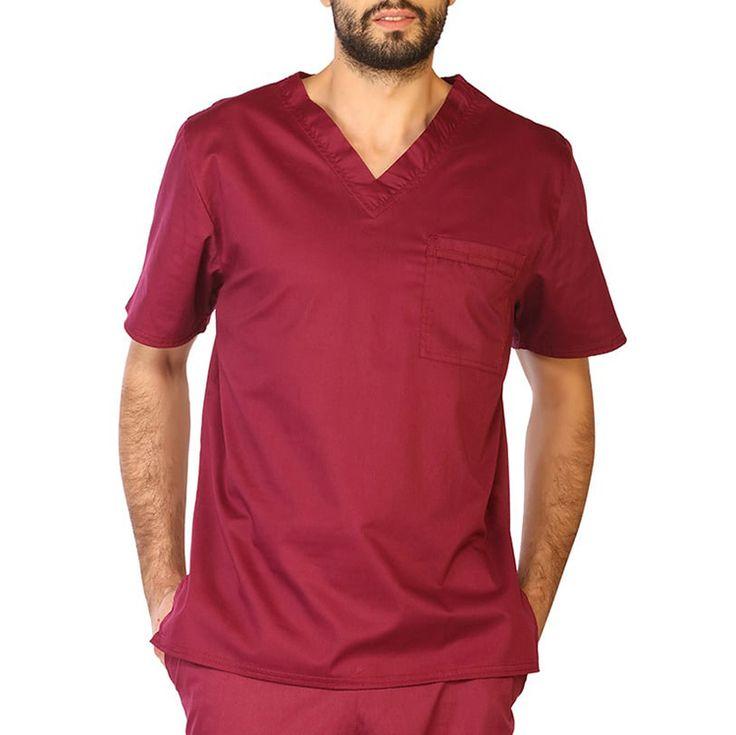 Fashionable Medical Scrub Nurse Hospital Uniforms Design