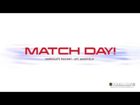 It's match day!    Kick-off 3pm - see you at Station View!    https://www.youtube.com/watch?v=n_T5fIcjmC0&feature=youtu.be    @therailfc @AFCMansfield @NCEL #NCEL