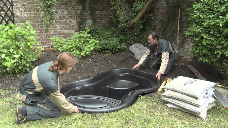 Les 25 meilleures id es de la cat gorie bassin de jardin pr form sur pinterest bassins de - Bassin d ornement preforme besancon ...