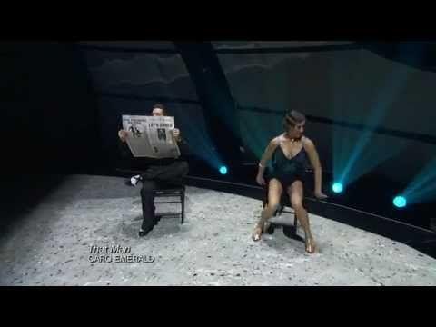 #SYTYCD season 9 champion Eliana Girard and all-star Ryan Di Lello dance a spirited quickstep choreographed by Jonathan Roberts.