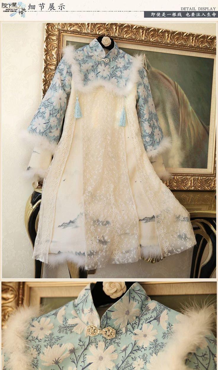 258 besten hanfu 2 Bilder auf Pinterest | Hanfu, Lolita kleid und ...