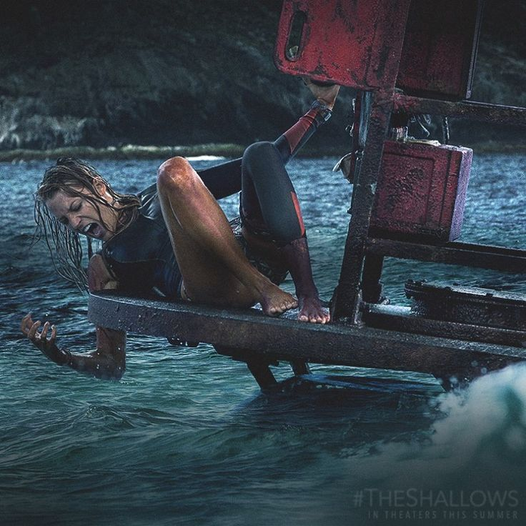 Blake Lively Beats Great White Shark In 'The Shallows' Trailer [WATCH] - http://www.australianetworknews.com/blake-lively-beats-great-white-shark-shallows-trailer-watch/