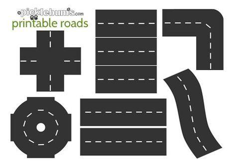 * Coup de coeur: des routes imprimables (coin jeux)
