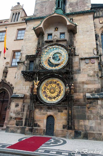 Las Fotografías de Bandera: El Reloj Astronómico de Praga