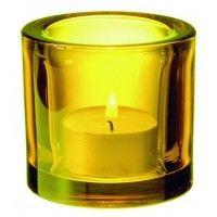 iittala Kivi tealight - yellow