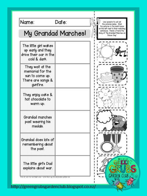 Best Read Alouds for Anzac Day! { FREE Printable follow up activity sheets} by Green Grubs Garden Club