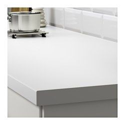 ... You can cut the countertop to the length you want and cover the edges
