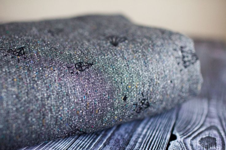 Minako Gem Meteorite Wrap (tsumugi silk, glitter) sz 6