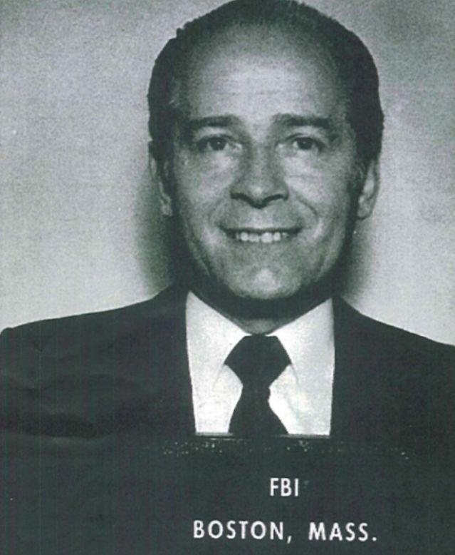 "A 1983 mugshot of James ""Whitey"" Bulger taken at the Boston office of the FBI."