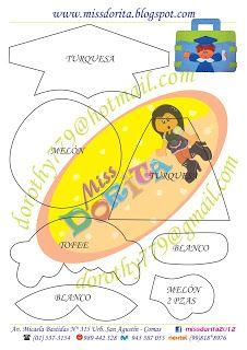 Miss Dorita portafolio niño molde 1