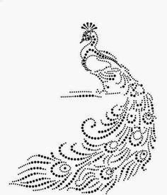 Afbeeldingsresultaat voor kinder strijkapplicaties pauw