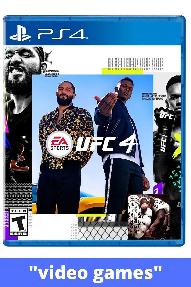 EA SPORTS UFC 4 PlayStation 4 [Video] in 2020 Ea